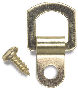 D-Ring Hanger, 1 Hole