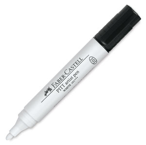 Big Artist Pen, White
