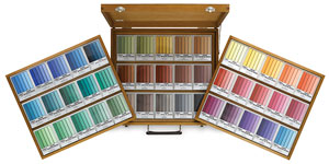 Holbein Artist's Oil Pastel Sets, Set of 225, Wooden Box