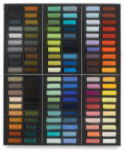Sennelier Half-Stick Soft Pastel Sets, Set of 120, Paris Colors, Half-Sticks   NEW!