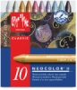Artists' Crayons, Metallic, Set of 10