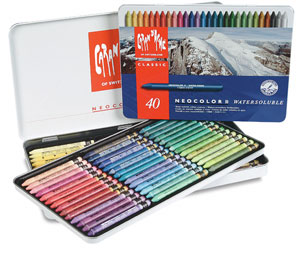 Neocolor II Artists&#39; Crayons