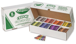 Classpack of 800, with 8 Colors