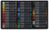 Water-Soluble Crayons, Set of 48 Colors