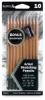 Pencils, Set of 10 w/ Sharpener
