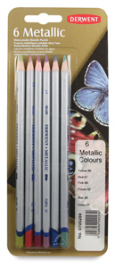 Metallic Colored Pencils, Set of 6