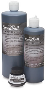Speedball Super Black Waterproof India Ink