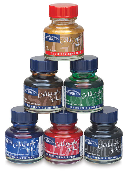 Winsor Newton Calligraphy Inks Blick Art Materials