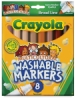Set of 8 Markers, Multicultural, Broad Tip