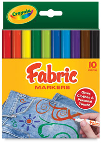 Crayloa Fabric markers