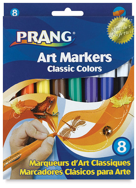 Classic Markers, Set of 8