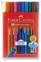 Faber-Castell Grip Colour Marker Pens