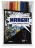 Set of 10 Manga Shonen Colors