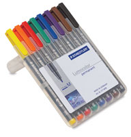 Staedtler Lumocolor Permanent Markers