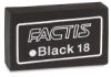 General&#39;s Factis &lt;nobr>Soft Black Eraser&lt;/nobr>