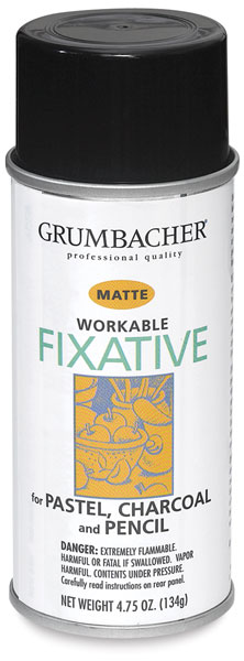 Workable Fixative, Matte
