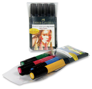 Pitt Big Brush Artist Pen Sets