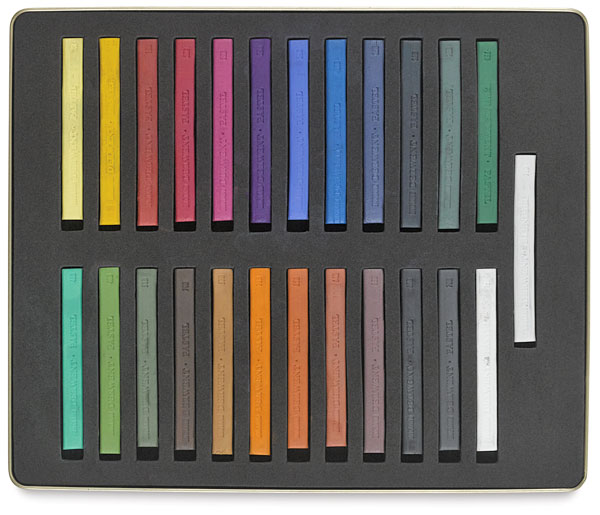 Pastels, Set of 24