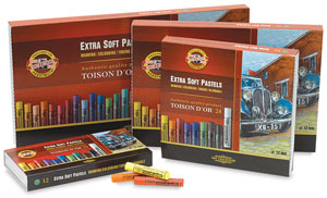 Toison D&#39;or Extra Soft Pastel Sets