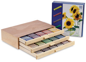 &amp;nbsp; NEW!  Deluxe Wood Box Set of 180