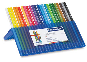 Colored Pencils, Set of 24