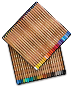 Soft Pastel Pencils, Set of 48