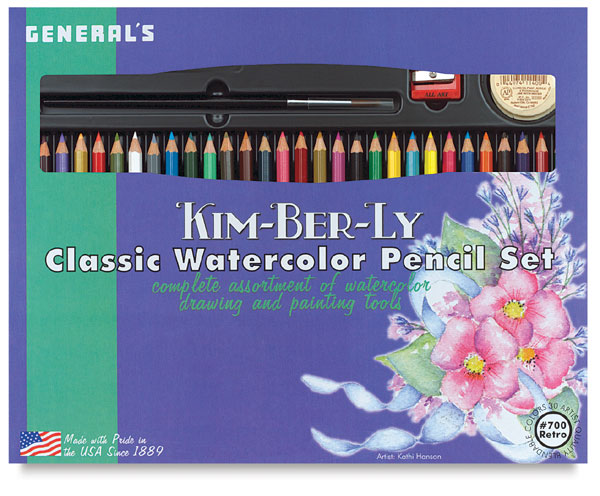 Classic Watercolor Pencil Set