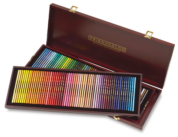 Prismacolor Premier Colored Pencil Wood Box Sets