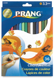 Set of 36 Colors, 3.3 mm Core