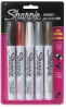Set of 5 Assorted w/ Metalic Markers