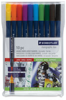 Staedtler Marsgraphic 3000 Duo Watercolor Brush Markers