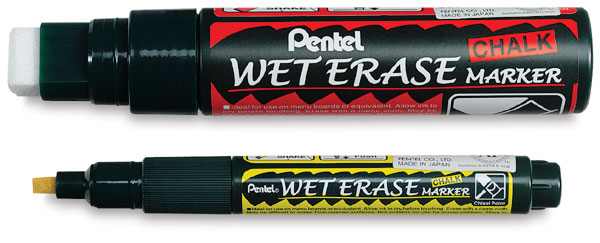 Wet Erase Chalk Markers