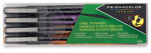 Chisel Tip Markers, Set of 4 Fashion Colors