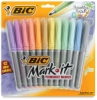 Set of 12, Paradise Pastels Colors, Fine