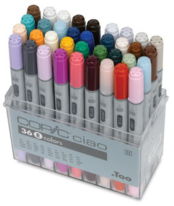 Set E of 36 Markers&amp;nbsp; NEW! 