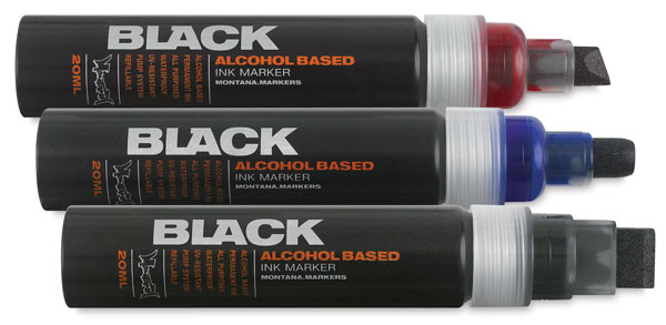 Montana Black Paint Markers