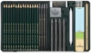 Faber-Castell Pitt Monochrome Graphite Set