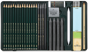 Pitt Monochrome Graphite Set of 29