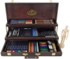 Royal Langnickel Deluxe Wood Box Drawing Set