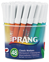 Prang Classic Bullet Tip Art Marker Tub of 48
