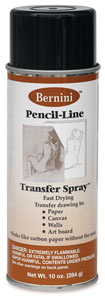 Pencil-Line Transfer Spray