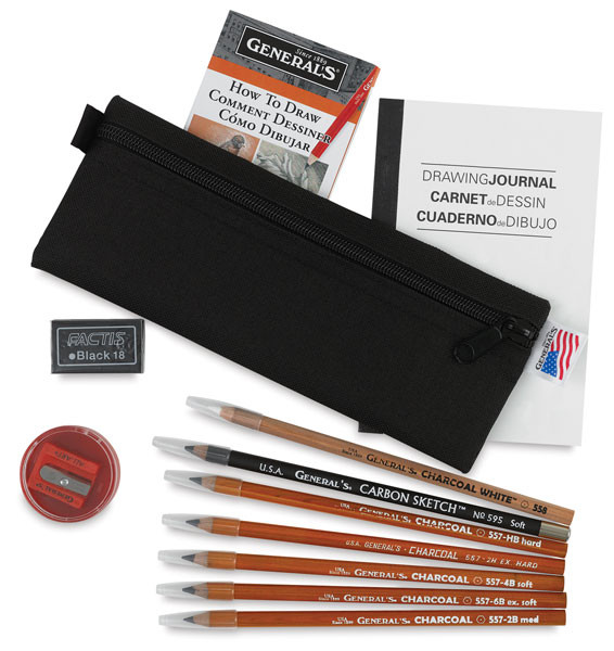 Charcoal and Carbon Kit