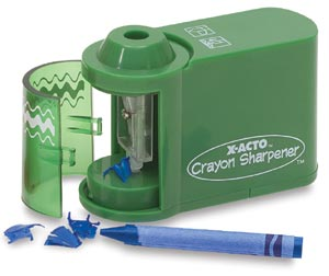 Crayon Sharpener, Battery-Operated