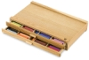Blick Master Series 2-Drawer &lt;nobr>Wood Pastel Cabinet&lt;/nobr>