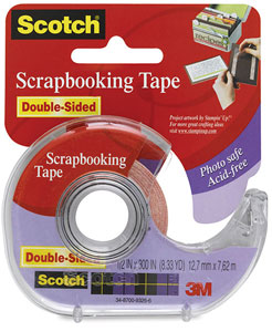 Scrapbooking Tape, Double-Sided