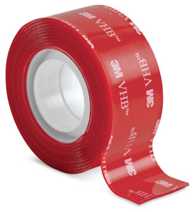 Scotch Clear Permanent Mounting Tape Blick Art Materials
