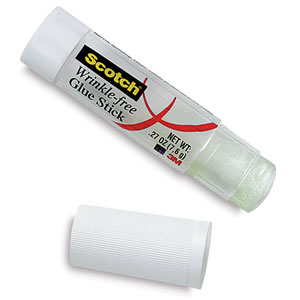 Wrinkle-Free Glue Stick