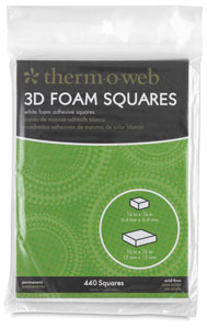 3D Foam Squares, Pkg of 440