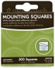 Mounting Squares, Pkg of 500