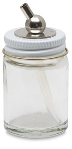 Glass Bottle (complete assembly), 1 oz